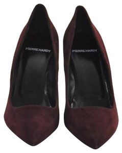 Pierre Hardy Burgundy Pumps
