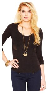 Free People T Shirt Black