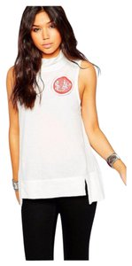 Free People T Shirt Whit Combo