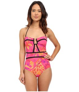 Nanette Lepore Nanette Lepore Jakarta Jaguar Seductress Reversible One Piece Swimsuit
