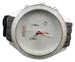 Mens Joe Rodeo Empire Jojo Jojino Rubber Band Diamond Watch Jrem1 2.25 Ct