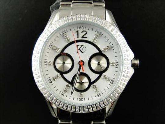 Other Ladies Womens Techno Com Kc 36mm White Diamond Watch Joe Rodeo Jojo Aqua Master
