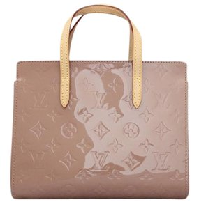 Louis Vuitton Catalina Bb Vernis Tote in Rose Velours