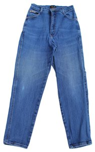 Action West High Rise Vintage Straight Leg Jeans-Medium Wash