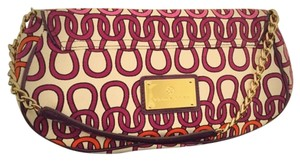 Trina Turk Purple, Orange Clutch