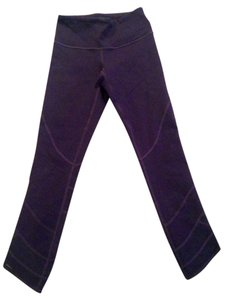 Lululemon Lululemon purple mesh leggings