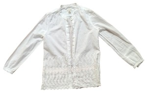 J.Crew Button Down Button Down Shirt White