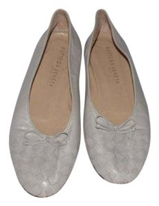 Bottega Veneta Comfy Classic Ballet Excellent Vintage Woven Design At Toe Perfect Daily stone colored leather Flats