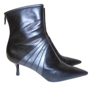 Cole Haan Ankle Zip Made In Brazil Super Soft Leather black Boots