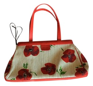 Moschino Tote in Red and white