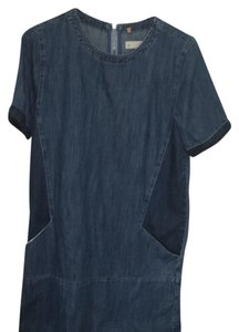 Topshop short dress denim on Tradesy