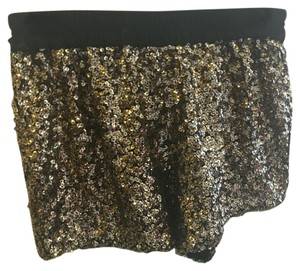 Zara Mini/Short Shorts Gold, black