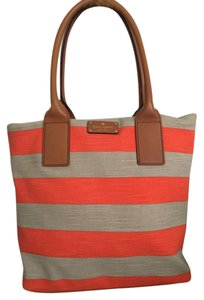 Kate Spade Tote in Orange/Wheat
