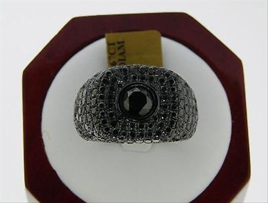Other Mens,Black,Diamonds,Solitaire,Pinky,Ring,7.67,Ct