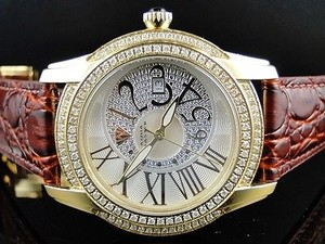 Mens Aqua Master Jojo Joe Rodeo 44mm W 127 Diamond Watch 1.7 Ct