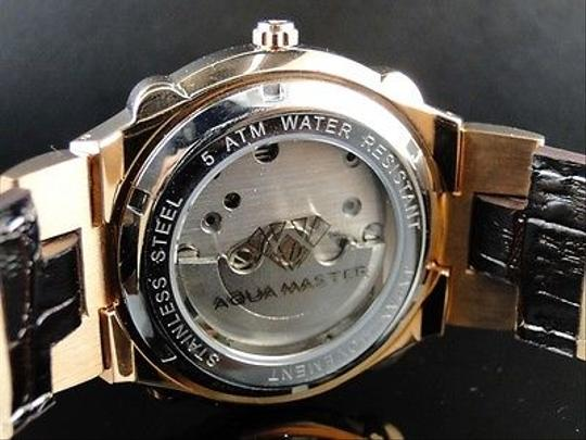 Other Mens Aqua Master Jojo Joe Rodeo Techno Kc Rose Gold Automatic Diamond Watch