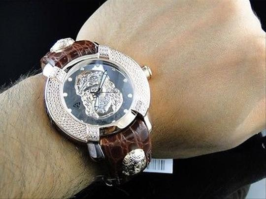 Other Mens Aqua Master Jojo Joe Rodeo Techno Kc Jesus W96 Rose Diamond Watch