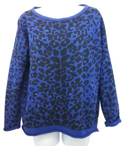 Maje Animal Print Sweater