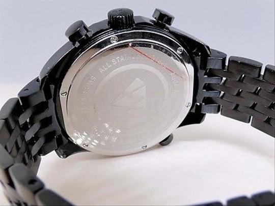 Other Mens Aqua Master Joe Rodeo Black World Black Diamond Watch W326 1.50 Ct