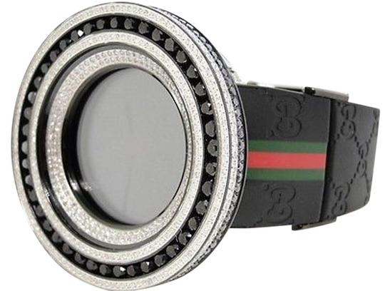 Preload https://img-static.tradesy.com/item/1882331/mens-52mm-bezel-i-gucci-digital-black-and-white-diamond-watch-185-ct-0-1-540-540.jpg