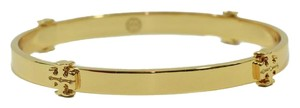 Tory Burch NWT TORY BURCH Logo Bangle Bracelet, Gold
