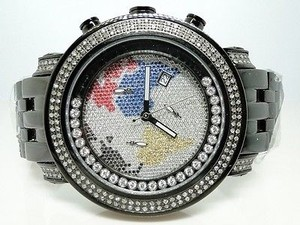 Joe Rodeojojo Black Tyler Jtm7 Diamond Watch 1.90 Ct