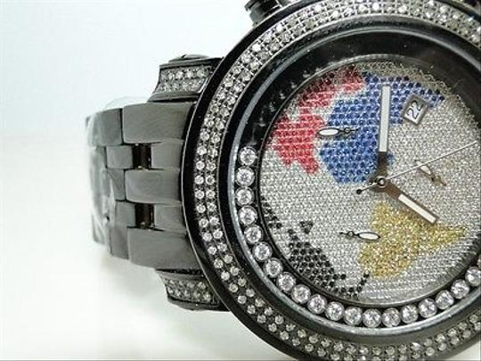 Other Joe Rodeojojo Black Tyler Jtm7 Diamond Watch 1.90 Ct