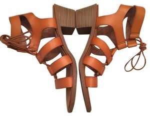 Old Navy Cognac Sandals