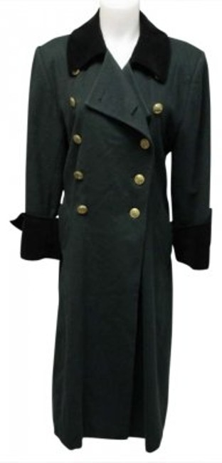 Preload https://item4.tradesy.com/images/dior-green-vintage-pea-coat-size-6-s-188238-0-0.jpg?width=400&height=650