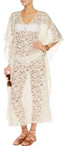 Melissa Odabash Cream lace Abigail maxi kaftan/ dress
