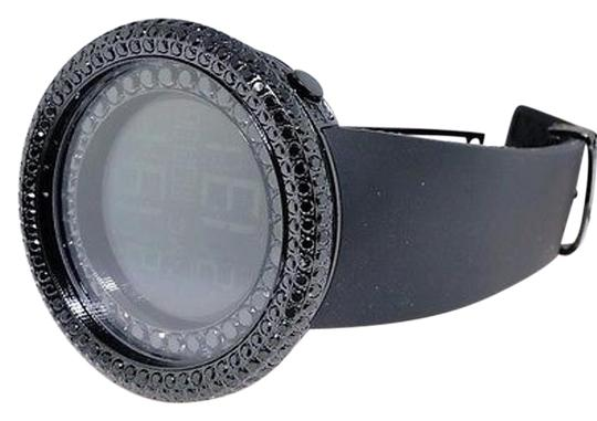 JoJino Mens Jojojojinojoe Rodeo Black Simulated Diamond Watch Mj-8022 15 Ct