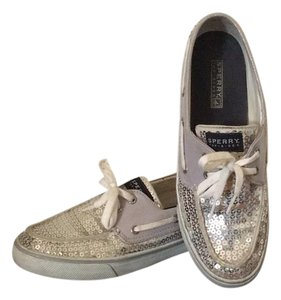 Sperry Silver Flats
