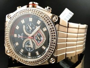 Other Aqua Master Jojo Joe Rodeo Rose Gold Real Diamond Watch