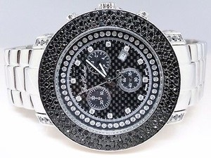 Other Joe Rodeojojo Junior Jju45 Black Row Diamond Watch Ct