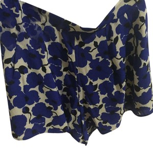 Luxxel Dress Shorts Blue white