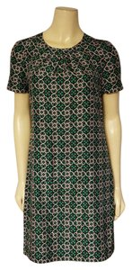 J.Crew short dress green, beige and black on Tradesy