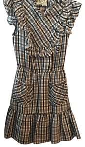 Sea New York short dress Black and white checkers on Tradesy