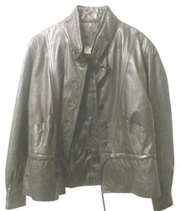 Casual Corner Leather Junior Size Leather Jacket