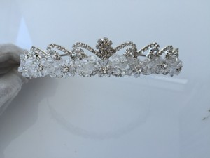 Beaded Crown Wedding Tiara