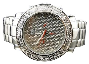 Other Mens Platinum Watch Co Jojojojinojoe Rodeo Diamond Watch Pwc-ju103