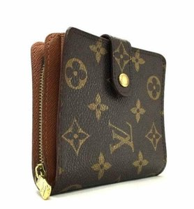 Louis Vuitton Monogram Canvas Classic Compact Zippy Bifold Wallet