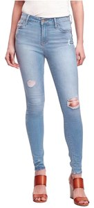 Old Navy Distressed Wash Skinny Jeans-Light Wash