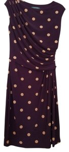 Ralph Lauren short dress Dark purple on Tradesy