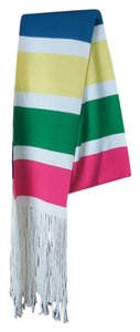 Express Multi-Color Scarf with Fringe