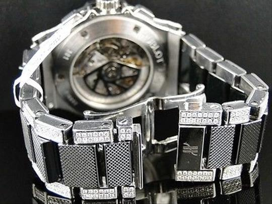 Hublot Mens Hublot Big Bang 44mm Evolution Ceramic Band Diamond Watch 15.95