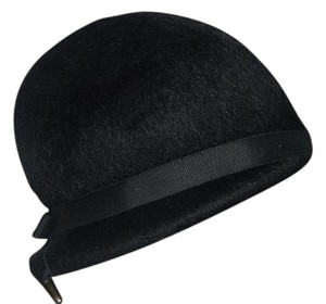 Mahara Black Mohair Hat by Mahara with Union Tag