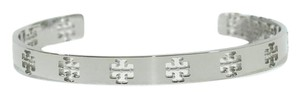 Tory Burch NWT TORY BURCH Logo Bangle Bracelet, Silver