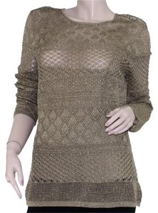Lauren Ralph Lauren Designer Knit Nylon Sweater