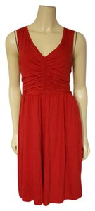 DKNY short dress RED on Tradesy