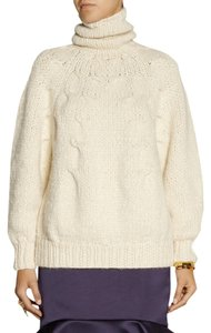 Oscar de la Renta Knit Dress Wool Cashmere Sweater